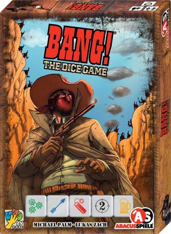 BANG - The Dice Game - Kartenspiel, Bluffspiel von Michael Palm & Lukas Zach