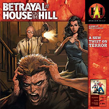 Betrayal At House On The Hill - Rollen-Brettspiel von Bruce Glassco