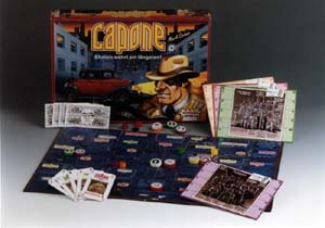 Capone - Brettspiel von Mark Caines, Anthony Watts