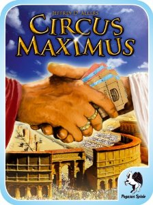 Circus Maximus - Kartenspiel, Auslegespiel, Workers Placement von Jeffrey D. Allers