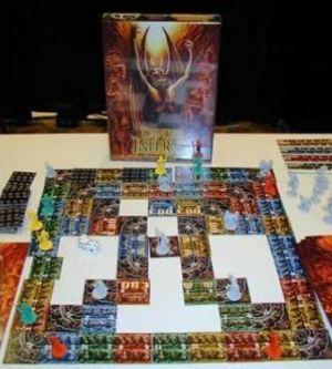 Dantes Inferno - Brettspiel von Kerry Breitenstein