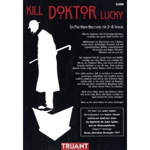 Kill Dr. Lucky - Brettspiel von James Ernest