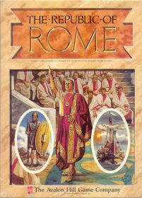 The Republic of Rome - Brettspiel / Strategiespiel von Richard M. Berthold, Robert Haines